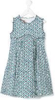 La Stupenderia printed flared dress
