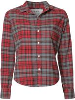 Frank And Eileen 'Barry' checked shirt - women - Cotton - XS