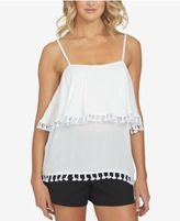 1 STATE 1.STATE Tassled Ruffled Top