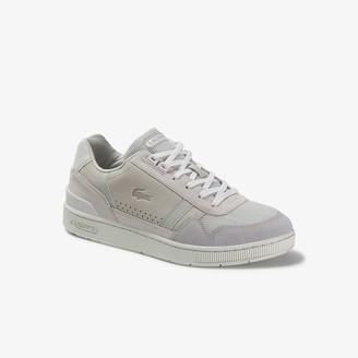 Lacoste Men's T-Clip Suede Sneakers