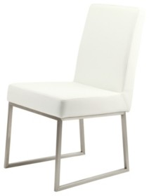 Moe's Home Collection Tyson Dining Chair White-Set Of Two