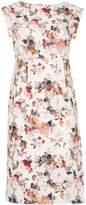 Izabel London Vintage Floral High Waist Dress