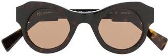 Kuboraum Round-Frame Sunglasses