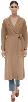 Max Mara 'S BELTED LONG WOOL COAT
