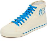adidas x Raf Simons Matrix Spirit High Top Sneakers