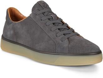 Ecco Street Tray Suede Sneaker