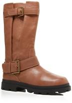 Gentle Souls Waterproof Buckle Mid-Shaft Boots