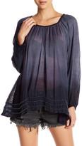 Letarte Long Sleeve Embellished Bead Cover Up