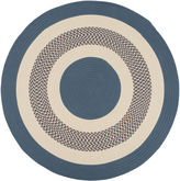 Colonial Mills Lighthouse Reversible Braided Indoor/Outdoor Round Rug