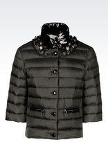 Emporio Armani Light Nylon Short Down Jacket