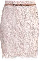 Comma Pencil skirt light sand