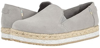Toms Palma (Drizzle Grey Suede) Women's Shoes