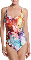 Gottex Spring Embrace Floral-Print One-Piece Swimsuit