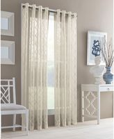 J. Queen New YorkTM Adorn Grommet Top Sheer Window Curtain Panel