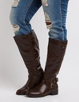 Charlotte Russe Wide Width Riding Boots