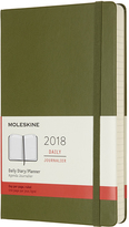 Moleskine Large Elm Green Twelve-Month Daily Planner
