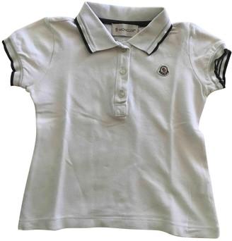 Moncler White Cotton Tops
