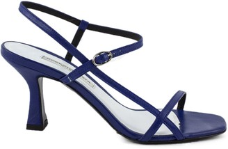 Roberto Festa Blue Leather Geneve Sandal