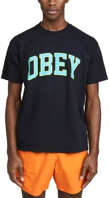 Obey Short Sleeve Heavy Weight Classic Box T-Shirt