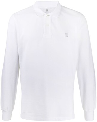 Brunello Cucinelli Longsleeved Polo Shirt