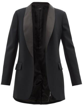 Joseph Clapton Satin-lapel Twill Tuxedo - Black