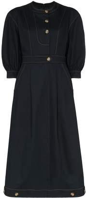 REJINA PYO button-detail midi dress