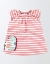 Boden Summer Jersey Appliqué Dress