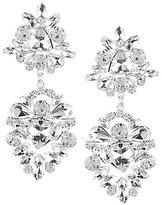 Cezanne Rhinestone Cluster Drop Earrings