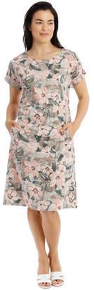 Regatta Extended Short Sleeve Dress With Waist Seam Lt