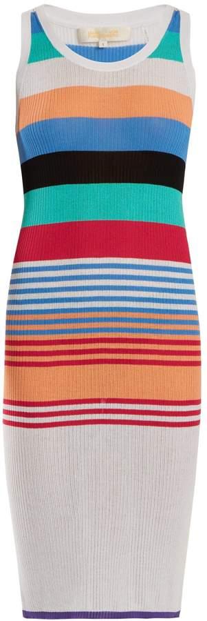 Diane von Furstenberg Striped cotton-blend dress