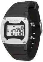 Freestyle Unisex 102000 Shark Retro 80's Digital Strap Black and Silver Watch
