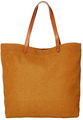Madewell The Canvas Transport Tote (Acorn) Handbags