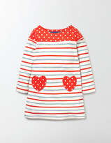 Boden Heart Pocket Jersey Dress