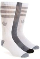 adidas 'Original' Cushioned Crew Socks (3-Pack)