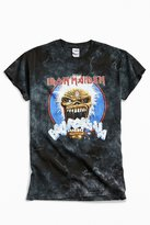 Urban Outfitters Iron Maiden Dyed Metal Tee