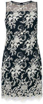 Ralph Lauren floral embroidered overlay dress
