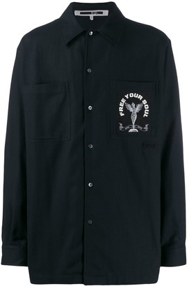Mcq Swallow Free Your Soul shirt