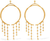 Chloé Gold-tone Hoop Earrings