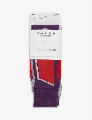 FALKE ERGONOMIC SPORT SYSTEM SK2 stretch-woven ski socks