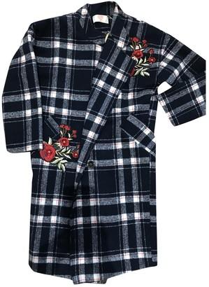 Lm Lulu Navy Coat for Women