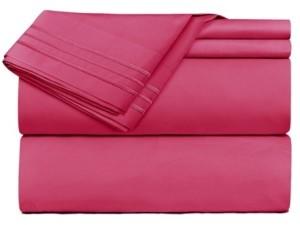 Roger Vivier Clara Clark Premier 1800 Series 4 Piece Deep Pocket Bed Sheet Set, Queen Bedding