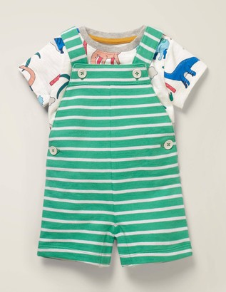 Summer Jersey Dungaree Set