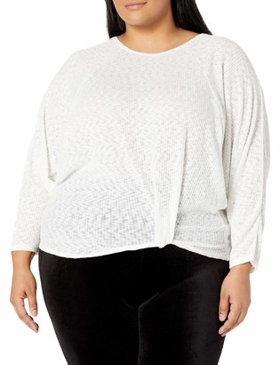 Forever 21 Women's Plus Size Knotted Dolman Top