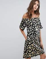 Helene Berman Off Shoulder Dress