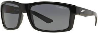 Arnette Corner Man AN4216 61mm Rectangle Polarized Sunglasses