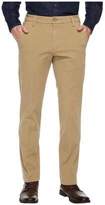 Dockers Slim Fit Workday Khaki Smart 360 Flex Pants (Black) Men's Clothing