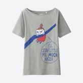 Uniqlo WOMEN Moomin Short Sleeve Graphic T-Shirt
