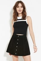 Forever 21 FOREVER 21+ Contrast Paneled Top