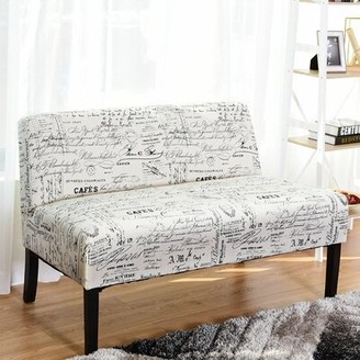 Oroville Loveseat Latitude Run Upholstery Color: Begie