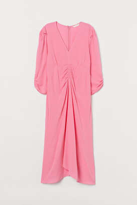 H&M MAMA V-neck Dress - Pink